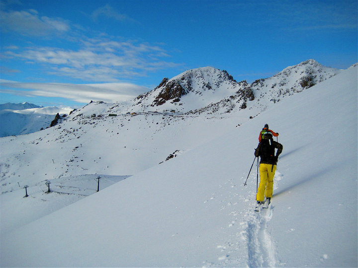steph jagger chris skiing