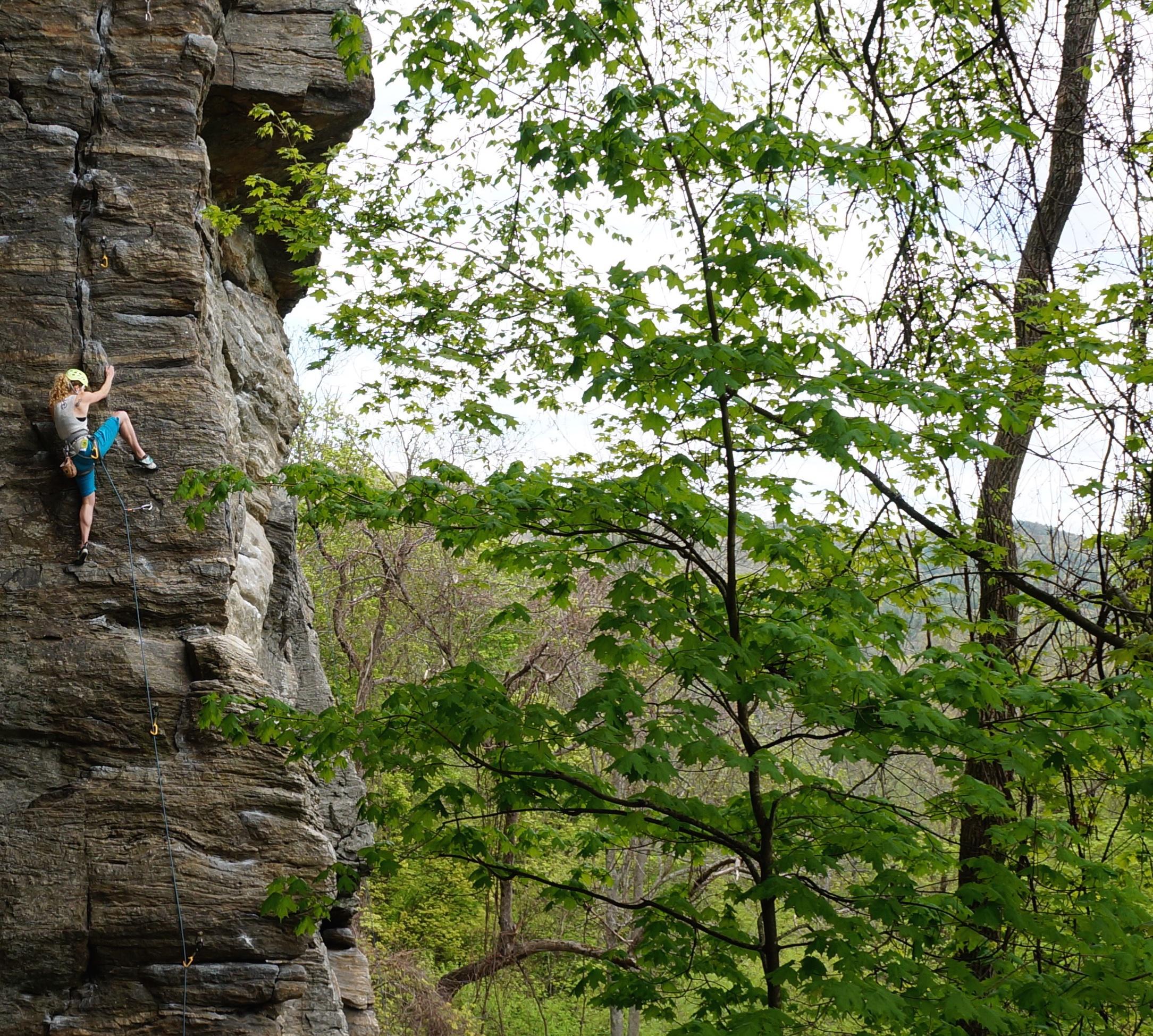 farley lead climbing