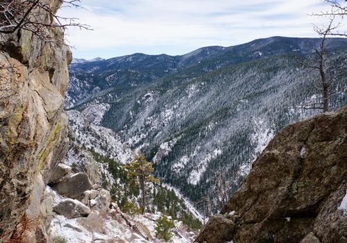 boulder canyon solar dome view